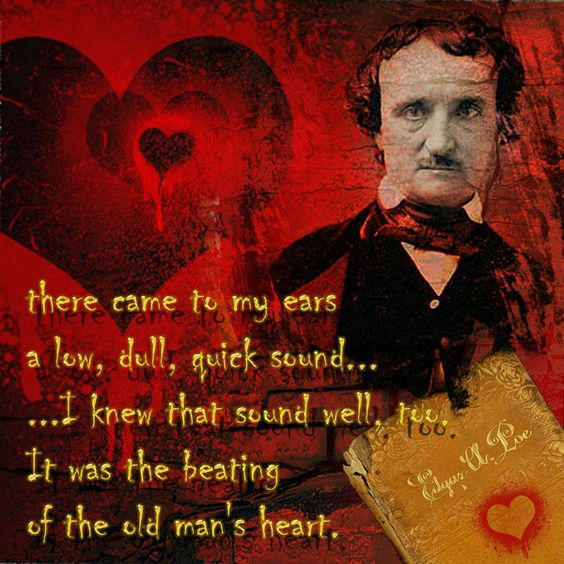 Tell Tale Heart Quotes: The Tell-Tale Heart By Edgar Allan Poe