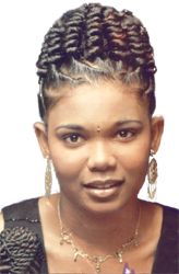 Amazing Twist Hairstyles Twists And African Hair Braiding On Pinterest Hairstyles For Women Draintrainus