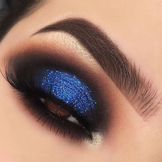 60 Best Gorgeous Blue Eyeshadow Makeup Looks You Should Try