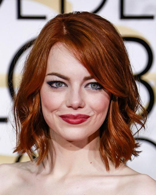 29 Best Hairstyles For Medium Red Hair Emma Stone Hair