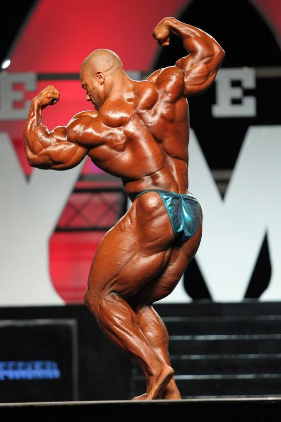 Phil Heath at the 2011 Olympia