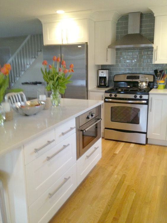 Stove Islands And Cabinets On Pinterest