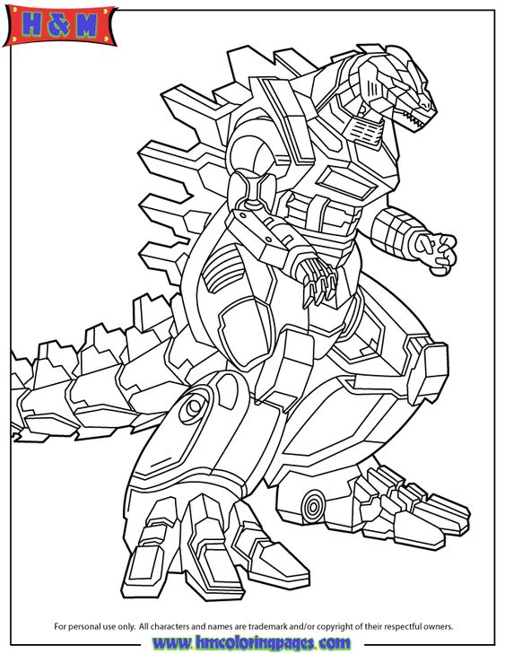 godzilla coloring pages for the kids pinterest book free printable coloring pages and