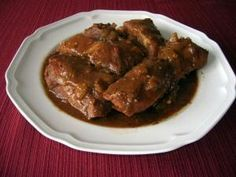 Slow Cooker County Style Ribs    The Southern Lady Cooks