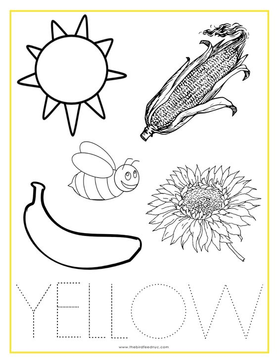 Alina Armen Beckalina17p On Pinterestrhpinterest: Coloring Pages Yellow Things At Baymontmadison.com