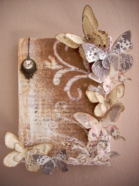 weve got a bunch of throw-away books in the department.  im researching crafts made from old books-isnt this pretty? crafting: