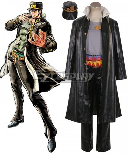 JoJo/'s Bizarre Adventure JOSEPH JOESTAR cosplay costume set custom made New