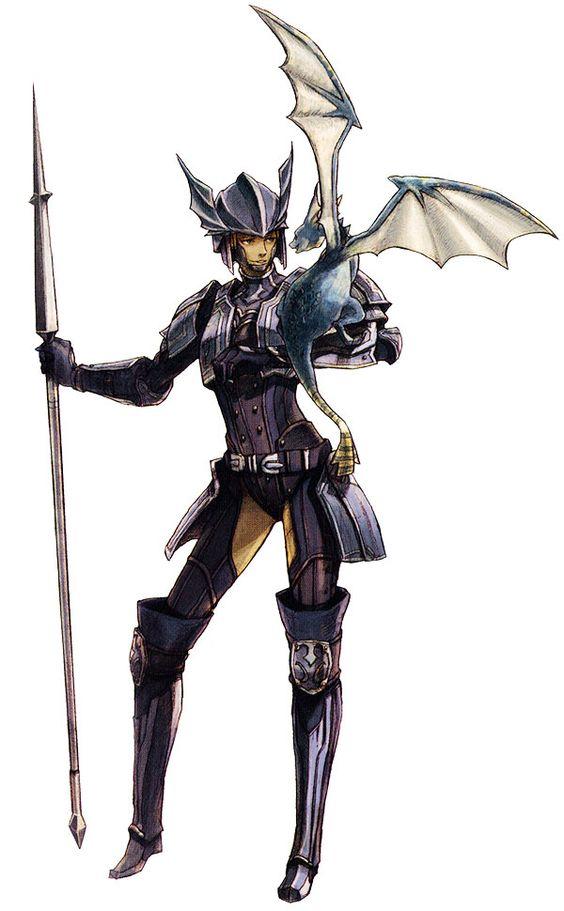 Final Fantasy XI Art - Dragoon <3