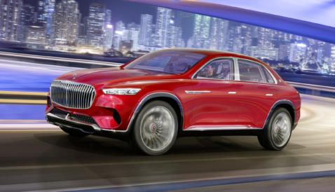 Vision Mercedes Maybach Ultimate Luxury Mercedes Maybach