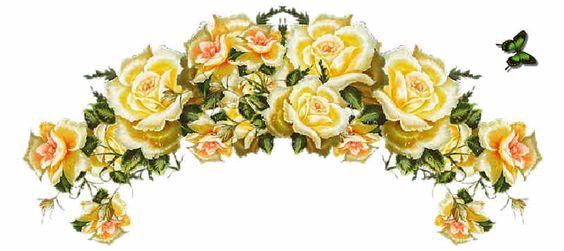Flores de Primavera, flor, guirnalda de flores, flores,