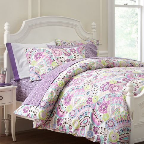 Paisley Pop Duvet Cover Amp Pillowcases Pbteen Girls