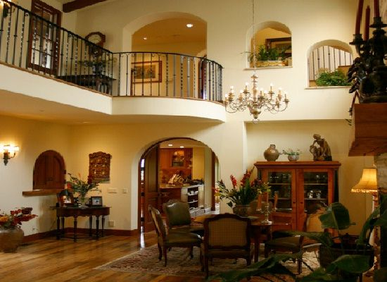 spanish style house plans with interior photos Google Search