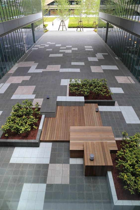 Teikyo heisei university nakano tokyo japan for Outer space design landscape architects