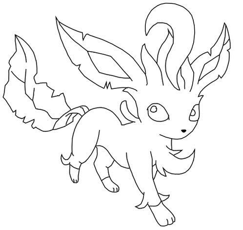 Pokemon Leafeon Coloring Pages Pokemon Coloring Pages Coloring