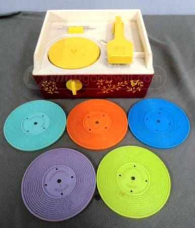 ahh memories  Vintage Fisher Price Record Player