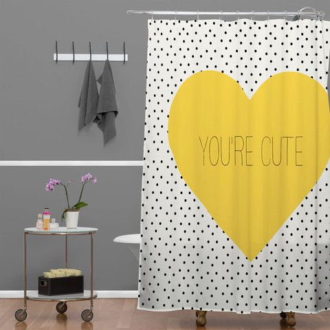Allyson Johnson You Are Cute Shower Curtain