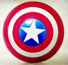 the avengers captain america shield light emitting sound cosplay property toy metallic shield redblue nad mart - Bouclier Captain America