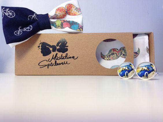 Moustache & bikes bow tie->>http://madalinaspirleanu.com
