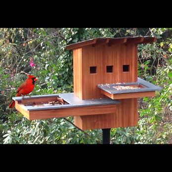 Bird house spa and resort woodworking plan by tobacco road guitars birdhouses gardens - Building a home according to cardinal directions ...