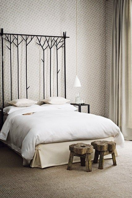 Bedroom Furniture High Resolution: High Headboards, Headboards And Tall Ceilings On Pinterest
