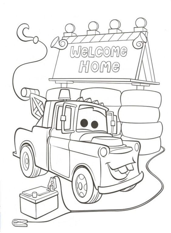 Kleurplaat Kleurplaten Cars.Afbeeldingsresultaat Voor Welkom Thuis Papa Kleurplaat