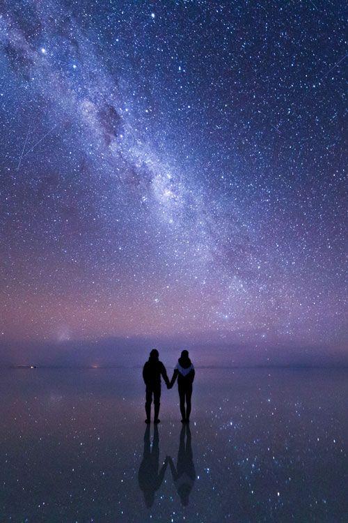 Dos, pero uno solo con el universo                              …:
