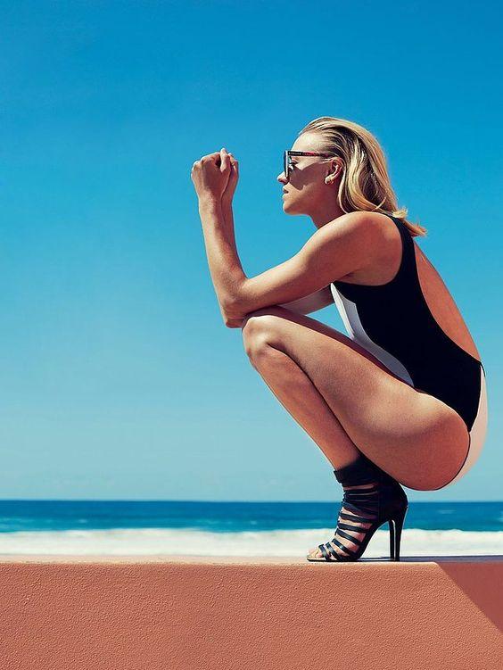 Life's a Beach for Yvonne Strahovski! | moviepilot.com