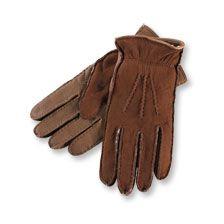 Jefferies-Handschuhe im Ledermix in Camel   bestellen - THE BRITISH SHOP english…