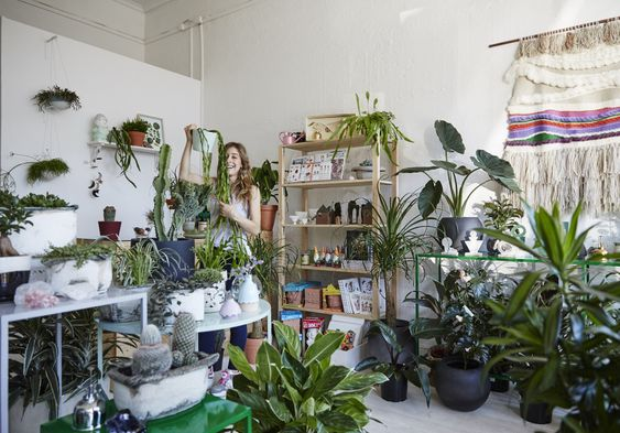 A lush (and spiky) store overflows with greenery in Melbourne's south-east.