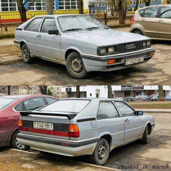 Cars From Bielarus On Instagram Audi Coupe B2 1980 1988 In Minsk Blr Audi Audi Coupe Audi Gt Audi