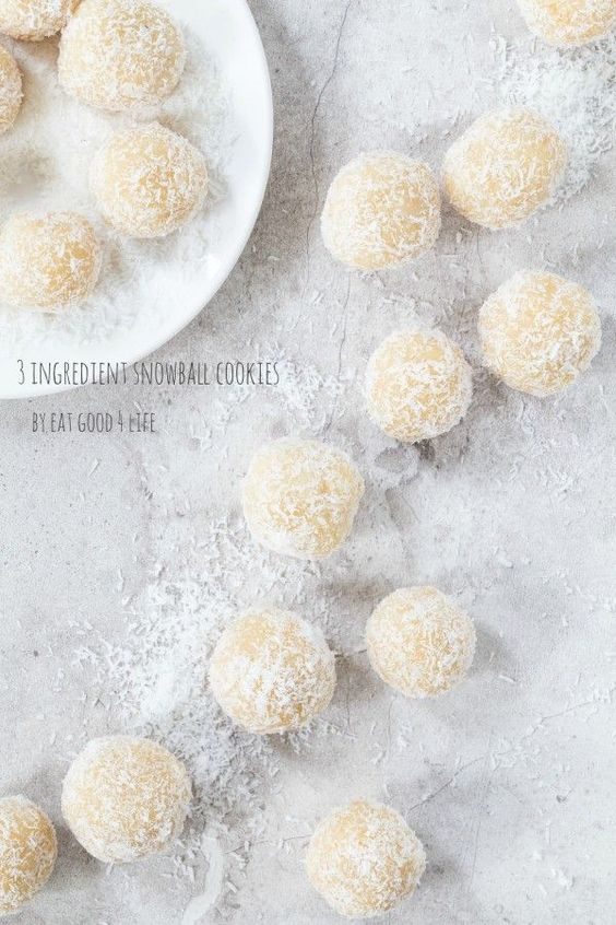 Gluten Free Orange - Almond Snowballs Recipe — Dishmaps