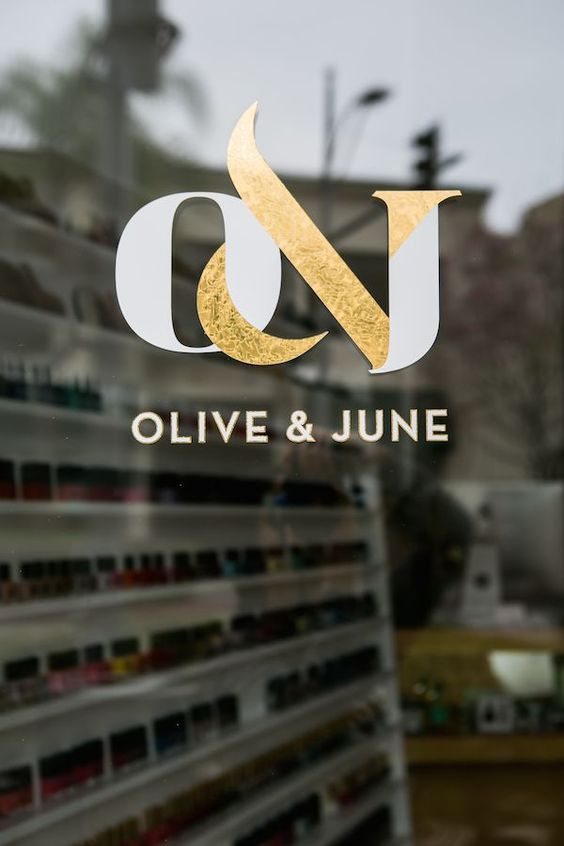 Olive and June / logo