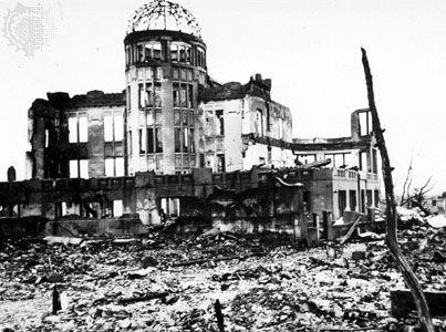 Ground zero in Hiroshima, Japan