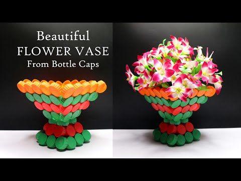 Ide Kreatif Tutup Botol Bekas Menjadi Vas Bunga Cantik Wadah