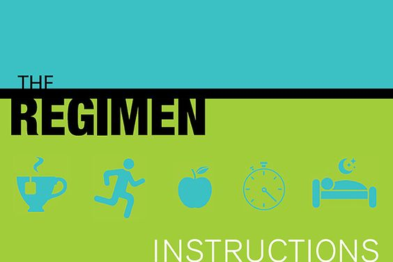 The Regimen Instructions: Follow this checklist everyday for optimal health.