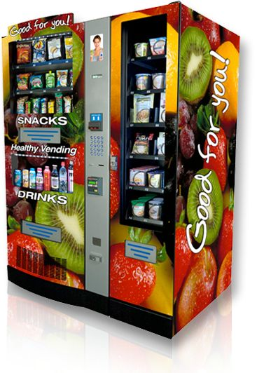 healthy vending machines las vegas