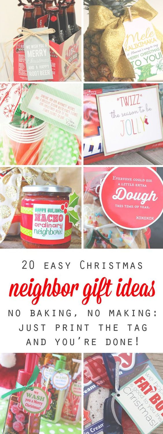 20 quick easy and cheap neighbor gift ideas for for Super cheap gift ideas