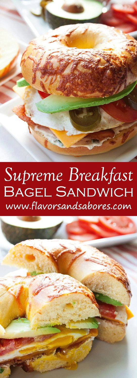 bacon breakfast eggs bagel sandwich fried eggs breakfast sandwiches ...