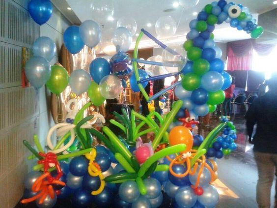 Under the Sea Theme Display
