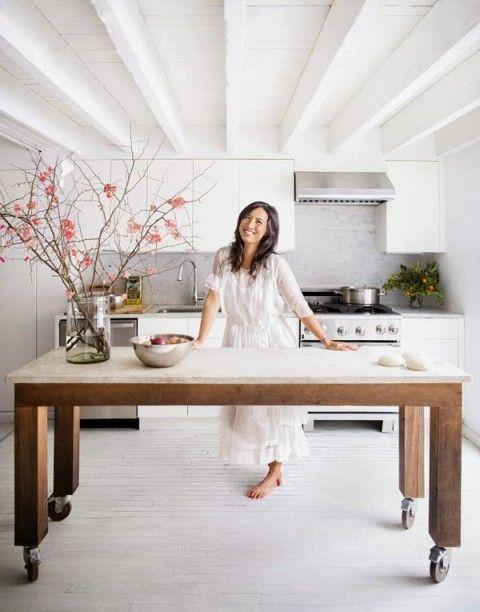 Envy Family Friendly Home House Kitchen Islands Angled Kitchen Islands Apartment Kitchen I Kitchen Design Diy My Scandinavian Home Kitchen Island Table