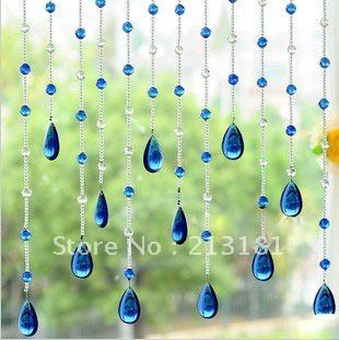Wholesale Crystal Glass Curtain Multicolor Crystal