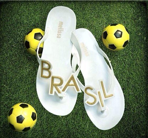 Chinelo sandália BRASIL copa do mundo