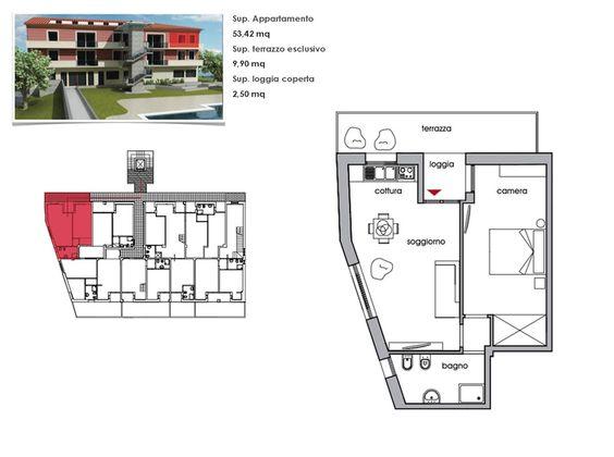 soggiorno con angolo cottura, disimpegno, camera, camerina, bagno ... - Foto Soggiorno Con Angolo Cottura 2