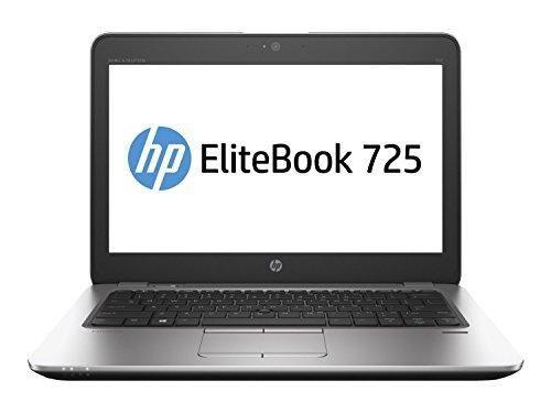 "HP EliteBook 725-G3 Business Notebook AMD A8-8600B/A8X4-1.6G 16GB/2-DIMM 256GB/SSD MR GBE 802.11ACBT Webcam AMD-RADEONR6/IGP Windows 10 Pro-64 bit Aluminum 12.5"""