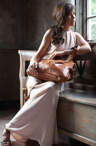 Patricia Nash hand bag Italian leather