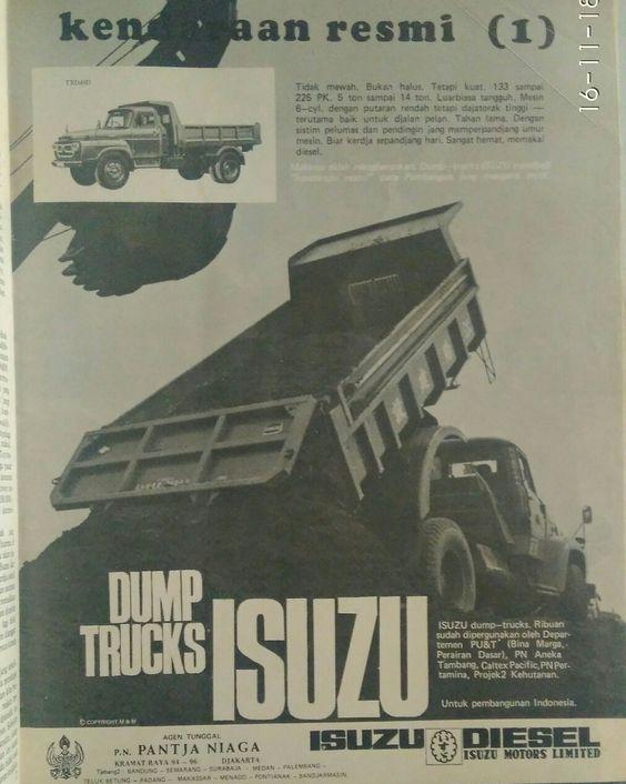 Iklan Isuzu truck
