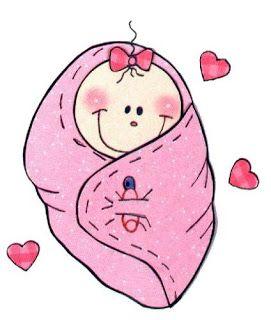 Dibujo de bebe baby shower para imprimir letras y - Dibujos pared bebe ...