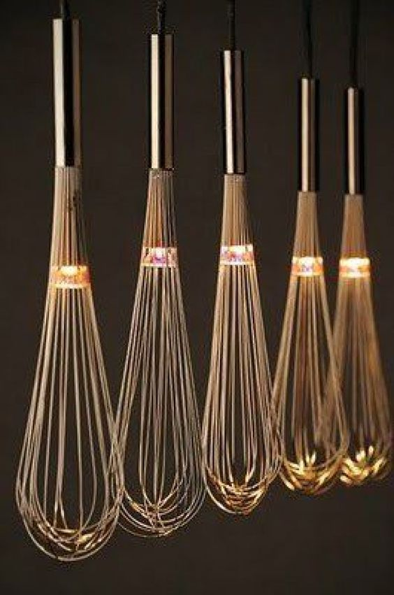 Lighting Ideas You Can Steal For Your Home Check out http://www.shop.com/search/cooking+whisks?k=60 for several great prices and options for your whisks