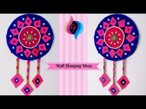 Waste Material Wall Hanging How To Make Wall Hangings At Home