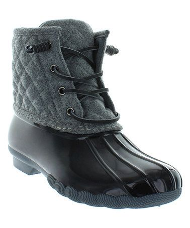 Another great find on #zulily! Gray Wool Goose Boot by Seven7 #zulilyfinds